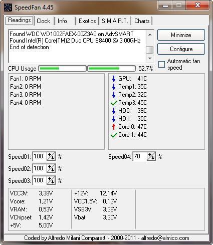 speedfan 4.45