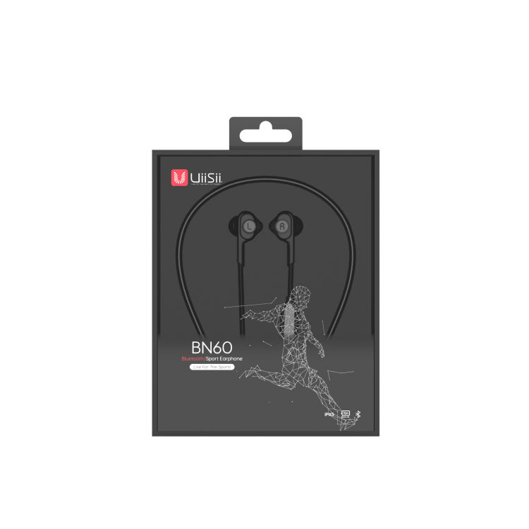 Uiisii BN60 Necklace sports headphone BLACK 5.png
