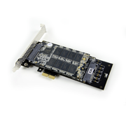 """Mach Xtreme MX Express PCI-e SSD 512G Review: RAID 0 out of the box"""