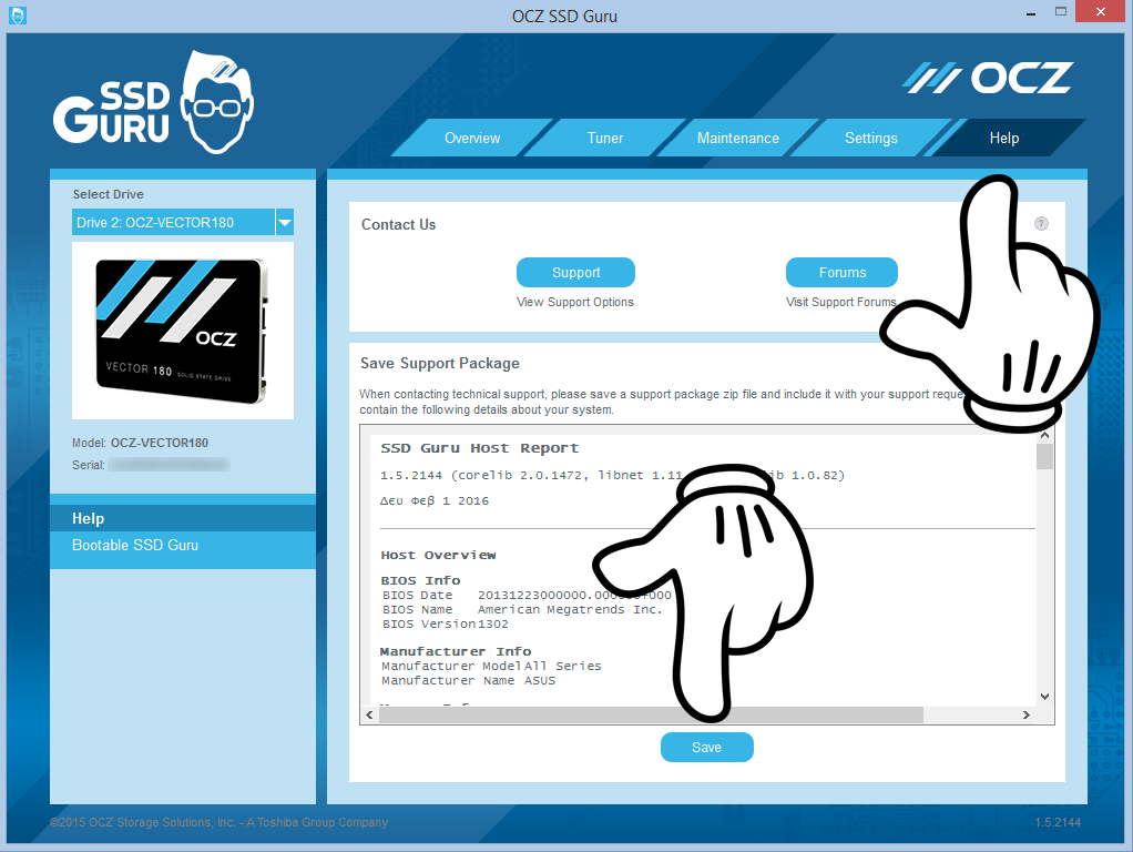 SSD Guru Support Package