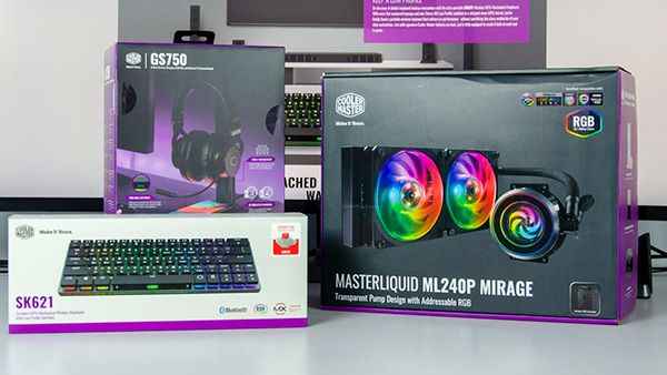 Review: Cooler Master ML240P Mirage Cooler & 3 Περιφερειακά