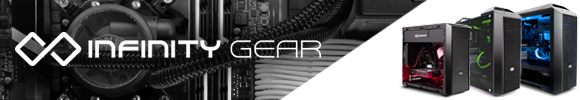 Infinity Gear Gaming PCs