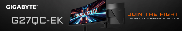Gigabyte G27QC 165Hz Curved