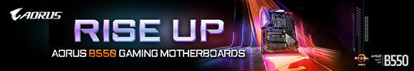 Aorus B550 Gaming Motherboards
