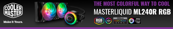 Coolermaster MasterLiquid ML240R RGB