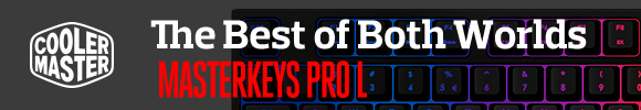 Coolermaster MasterKeys Pro L